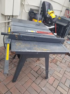 Table saw for Sale in Pembroke Park, FL