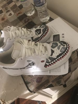 Air Force custom bape for Sale in Southern Pines, NC