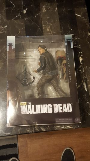 McFarlane Toys 10 in Daryl Dixon Deluxe action figure for Sale in Citrus Heights, CA