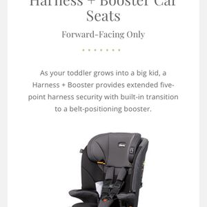 Chicco MyFit Harness Booster Car Seat for Sale in Greer, SC