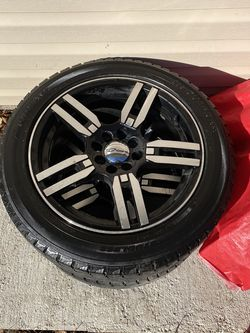 """Like new 17"""" Inch Rims And Tires for Sale in Bartlett,  IL"""