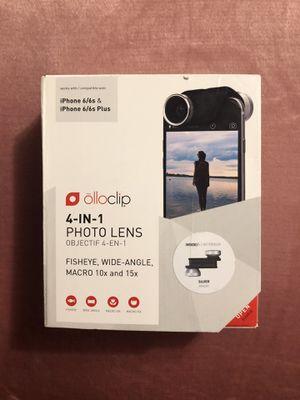 Olloclip 4 in 1 photo lens for Sale in Anoka, MN