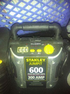 Kensun Air Compressor & Stanley 600 Amp Jump Box for Sale in Seattle, WA