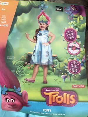 Trolls poppy Halloween costume for Sale in Riverside, CA