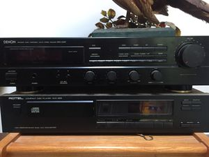 Denon stereo receiver, CD player for Sale in Stonington, CT