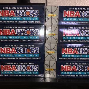 2019-20 NBA Hoops Premium Stock Basketball Factory Set Exclusive + 5 Bonus Prizm for Sale in Vernon, CA