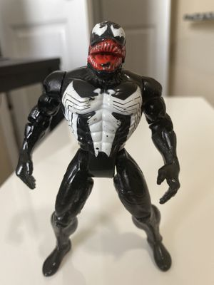 "Venom Jaw Chomping 1994 Toy Biz Marvel Spider-Man Animated Series Figure 5"" for Sale in Fayetteville, NC"