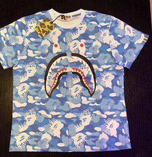 Blue bape t shirt for Sale in Miami Beach, FL