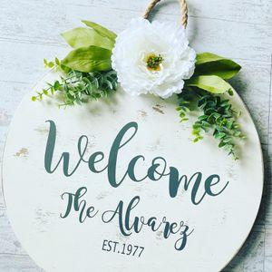 Welcome Door Sign for Sale in Houston, TX