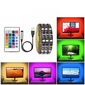 RGB LED Cabinet Light Not Waterproof DC 5V Kitchen LED Tape TV Backlight PC Desktop Computer Background Decoration Lighting Lamp for Sale in Boynton Beach, FL