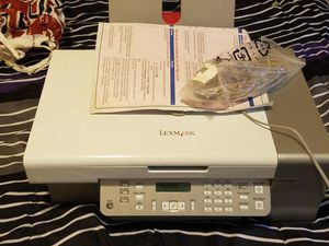 Viewsonic computer monitor, light changing(colors)wireless keyboard, lexmark printer/fax/copier machine for Sale in Brooklyn, MD