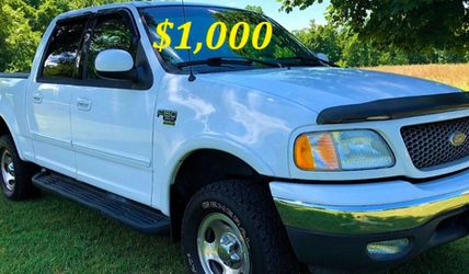 🟢💲1,OOO I'm selling URGENT this Beautiful💚2OO2 Ford F15O nice Family truck XLT Everything is working great! Runs great and fun to drive💪🟢 for Sale in Arlington,  TX