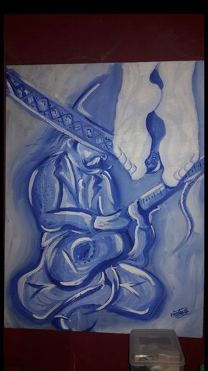 MARIACHI CRY   ACRYLIC PAINTING for Sale in Los Angeles, CA