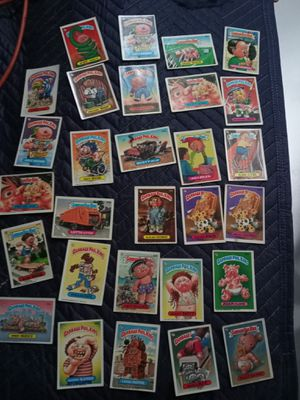COLLECTABLE GARBAGE PALE KIDS CARDS for Sale in Aberdeen, WA