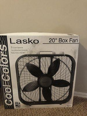 20 inch Box fan for Sale in Bentonville, AR