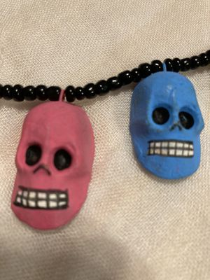 Skull 💀 Necklace - Handmade in Oaxaca, Mexico for Sale in Chicago, IL