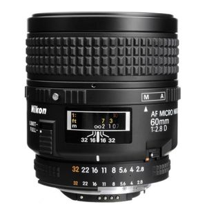 Nikon AF Micro-NIKKOR 60mm f/2.8D Lens for Sale in Brooklyn, NY