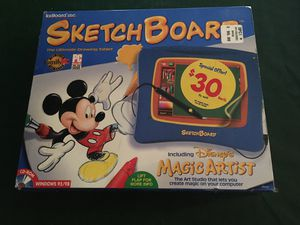 Vintage Disney Sketch Board for computer for Sale in Artesia, CA