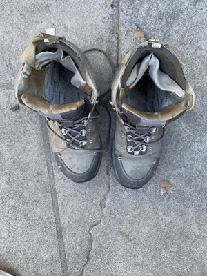 Ahnu women's hiking boots 8.0 used for Sale in San Mateo, CA