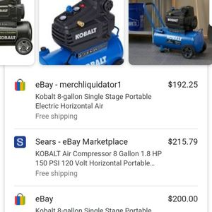 Koblat 8 Gallon Air Compressor for Sale in Oklahoma City, OK
