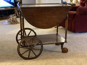 80+ year old antique bar cart by Paalman Furniture Company for Sale in Menifee, CA