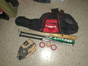 Baseball gear bundle for Sale in Glendale, AZ