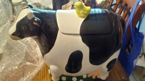 Cow Cookie Jar. for Sale in Thomasville, GA