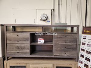 New Buffet / TV Stand, Grey, SKU# ID161627TC for Sale in Santa Fe Springs, CA