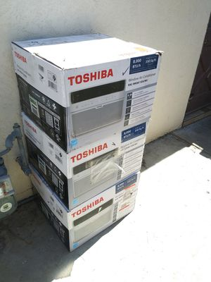 BRAND NEW AC WINDOW 8,000 BTU TOSHIBA FOR ROOM 350 SQ FT WITH REMOTE CONTROL ENERGY SAVER IF SOMEBODY INTERESTED TEXT ME PLEASE for Sale in Los Angeles, CA