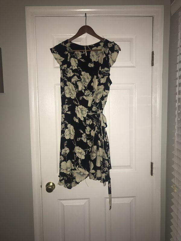 Nordstrom Free People wrap dress
