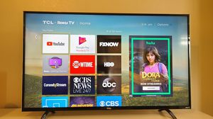 50 inch TCL 4K UHD Smart TV for Sale in Gilbert, AZ