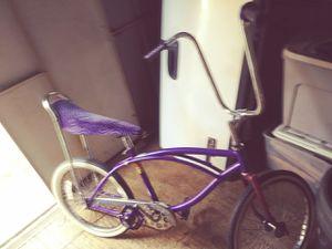 Purple banana seat bike for Sale in Hawi, HI