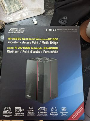 Asus repeater Ac68u for Sale in New York, NY