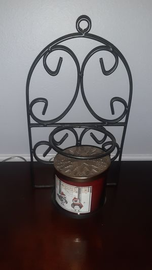 Metal candle holder for Sale in San Antonio, TX