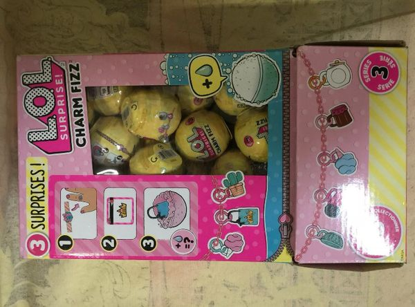 LOL Surprise! Charm Fizz Series 3—box With 60 Lol's Never Opened Before
