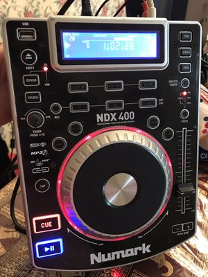 Numark NDX 400 professional tabletop CD/MP3 player for Sale in Pasadena, TX