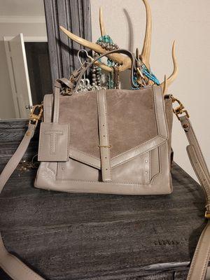 Tory Burch Suded Messenger Bag for Sale in BROOKSIDE VL, TX