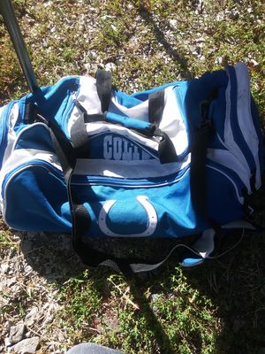 Colts dufflebag for Sale in Indianapolis, IN