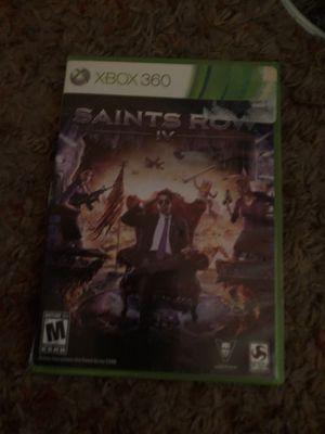 saints row xbox 360 video game for Sale in Pennsauken Township, NJ