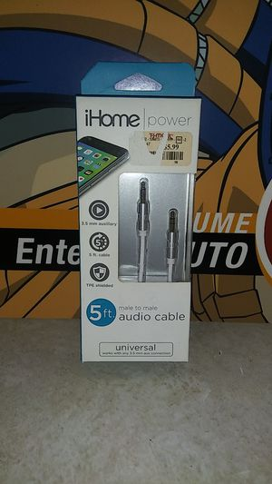 Unopened 5 ft. Aux Cable for Sale in Colma, CA