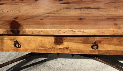 Solid Rustic Coffee Table for Sale in Seattle,  WA