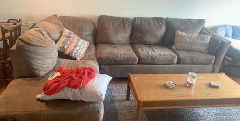 Sectional, pull out bed, couch for Sale in Boston,  MA