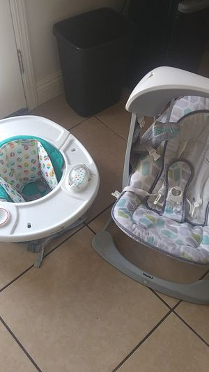 Baby swing, Booster Seat for Sale in Henderson, NV