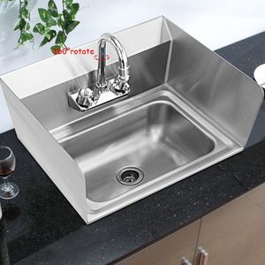 NSF Stainless Steel Hand Washing Sink with Faucet for Sale in City of Industry, CA