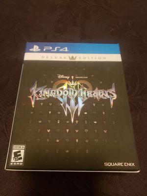 Kingdom Hearts 3 Deluxe Edition for Sale in Stockton, CA