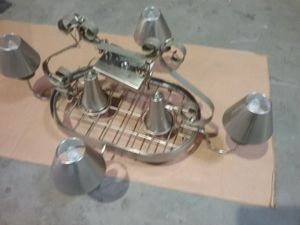 Stainless ceiling light rack HIGH END for Sale in Kingsville, MD