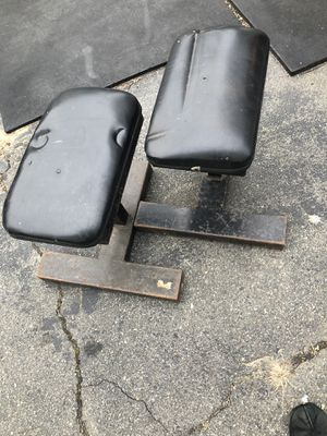 SINGLE GYM BENCHES *RARE* CURL BARS TOO! for Sale in Beverly, MA
