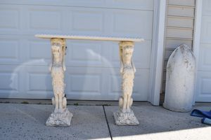 Vintage MCM console table for Sale in Hanover, MD
