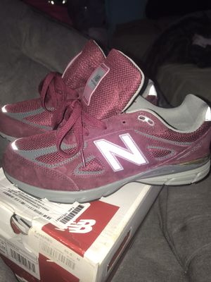 NEW Balance 990 M990BU4 Burgundy size 7 Classic Running Shoes Made in USA for Sale in Silver Spring, MD