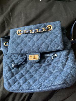 Women's blue mini back pack for Sale in Stockton, CA